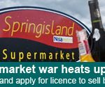 Coalisland supermarket war heats up as Springisland applies for booze licence